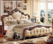 Tempat Tidur Ukiran Jati