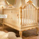 ranjang bayi mewah princess gold