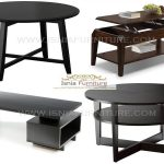 Coffe Table Minimalist Modern Murah Kayu Jati