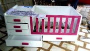 Gorgeous Wooden Baby Crib