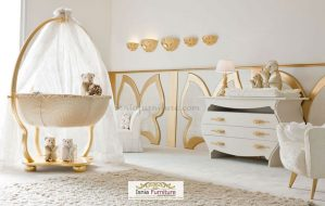 Luxurious Baby Set Room Gold