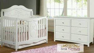 Tempat Tidur Bayi Modern Multifungsi