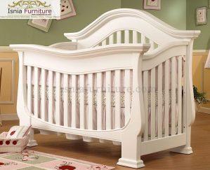Ranjang Bayi Modern Putih
