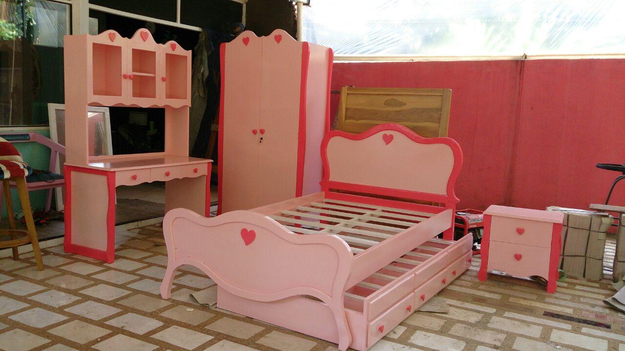 Kamar Set Anak Model Putri Harga Murah