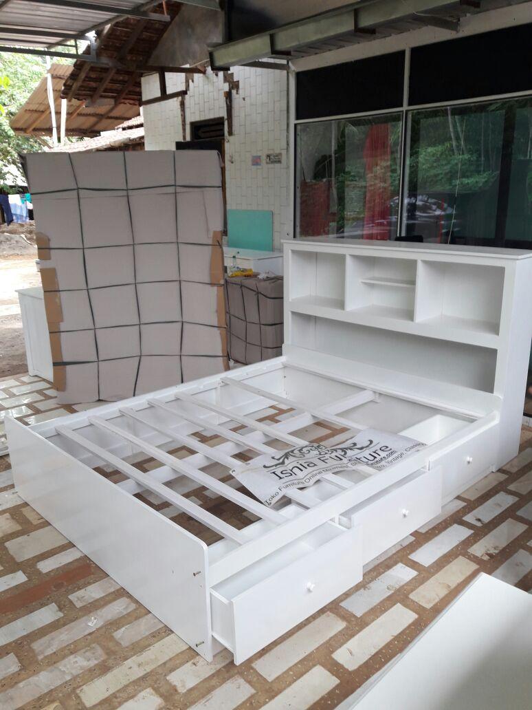 Tempat Tidur Laci Multiguna Untuk Kamar Minimalis