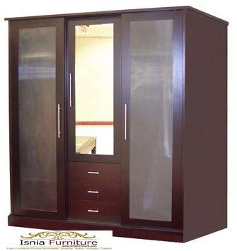 lemari pakaian jati (2)