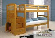 Tempat Tidur Tingkat Jati Salatiga