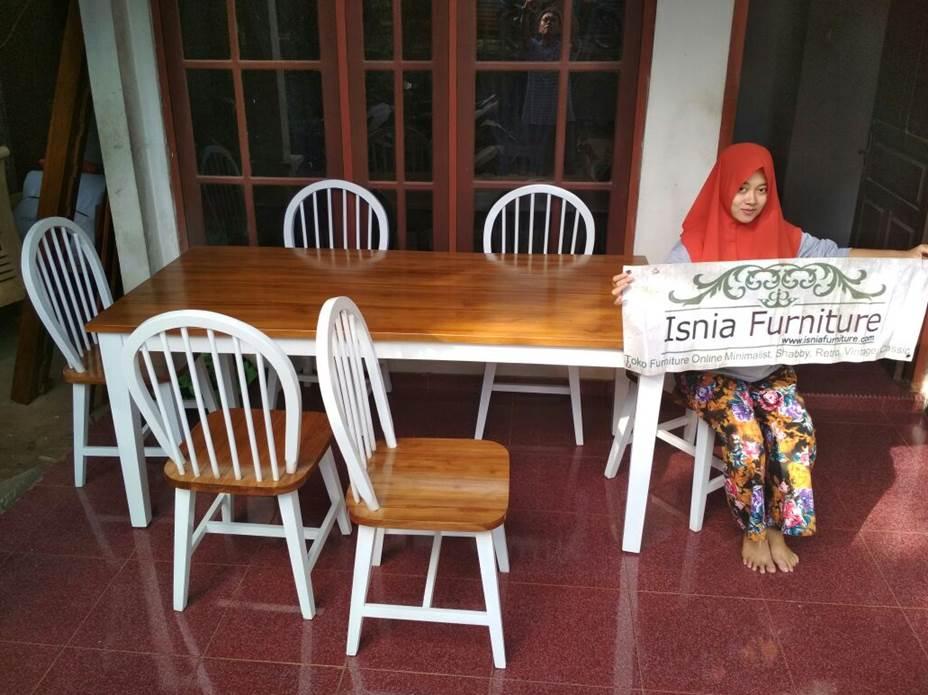 Set Meja Makan Tangerang 6 Kursi