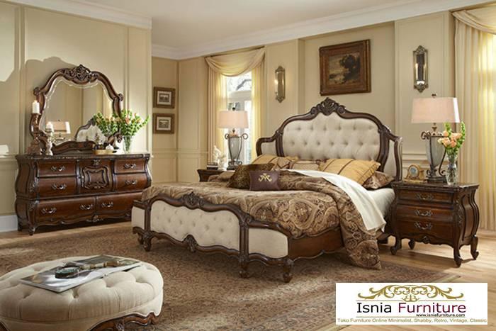 Tempat Tidur Bandung Mewah Model Klasik Jok
