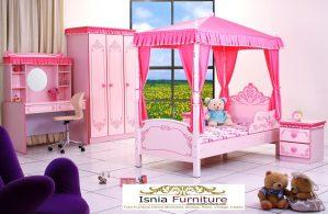 Set Kamar Anak Perempuan Minimalis Sweety Pink