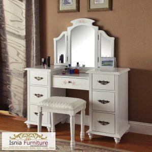 Meja Rias Laci Minimalis 3 Cermin Lipat Untuk Anak