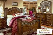 Tempat Tidur Ukir Mewah Jati Terlaris Model Klasik