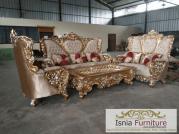 Jual Kursi Tamu Bandung Sofa Mewah Ukiran Jati Terbaru