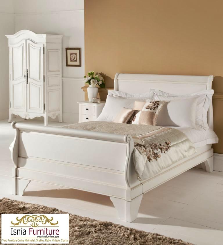 Set Tempat Tidur Minimalis Bagong Duco Putih Harga Murah