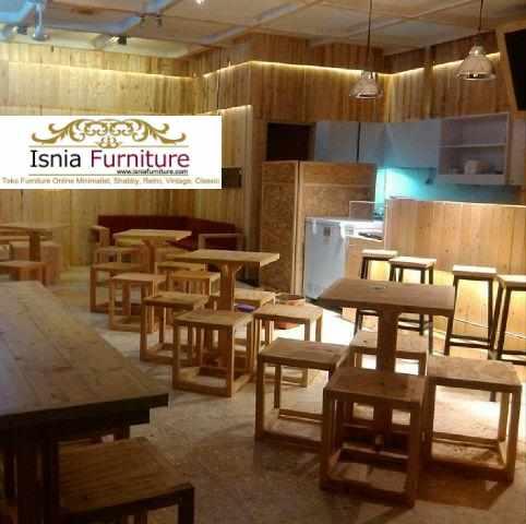 Jual Set Kursi Cafe Semarang Klasik Terbaru