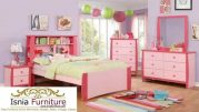 Kamar Set Anak Semarang Warna Pink