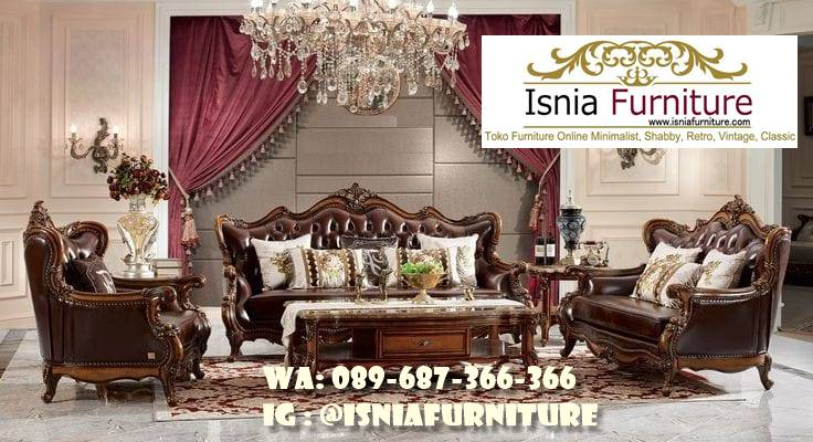 Sofa Kayu Ukir