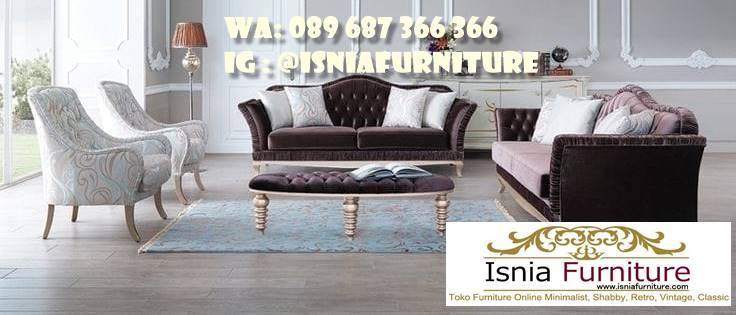 Jual Sofa Klasik Minimalis Model Kekinian
