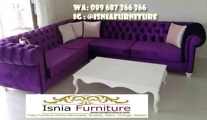 Jual Sofa Sudut Mewah Minimalis Terbaru Terlaris