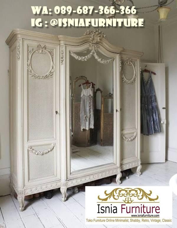 Jual Lemari Pakaian Klasik Mewah Ukiran Termewah Di Dunia