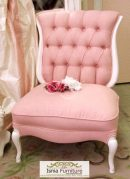 Kursi Sofa Single Pink Terbaru