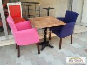 Meja Cafe Vintage Kursi Sofa Unik