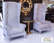 Sofa Teras Raja Ratu Grey Luxurious