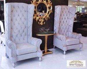 Sofa Teras Raja Ratu Grey Luxurious