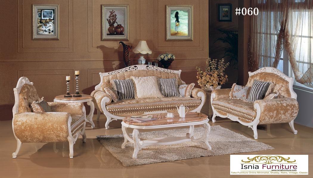 Sofa French Classic Untuk Ruang Tamu