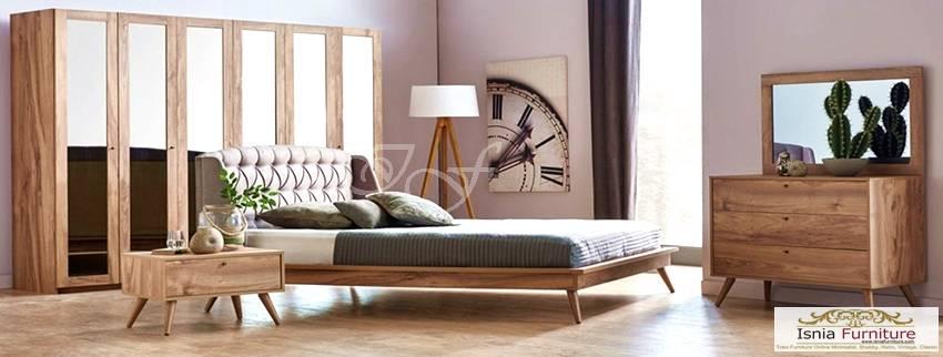 kamar set terbaru kayu capella
