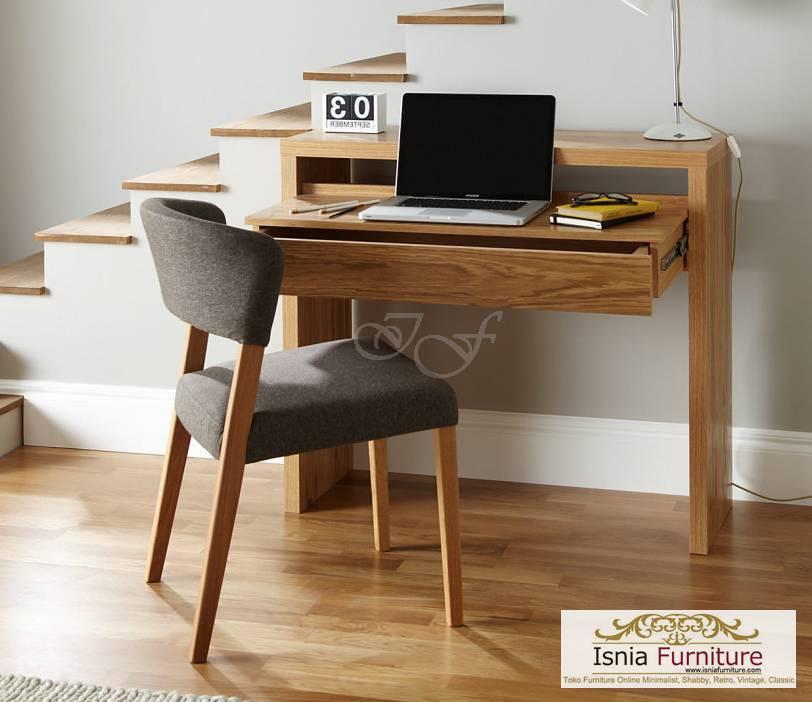 meja belajar new kayu solid