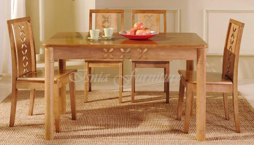 model meja makan minimalis cantik