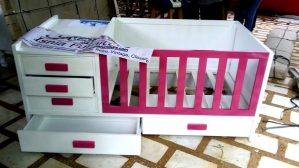 Gorgeous Wooden Baby Crib