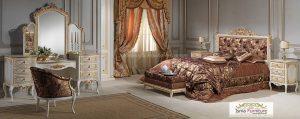 Kamar Set Mewah Klasik Rococo