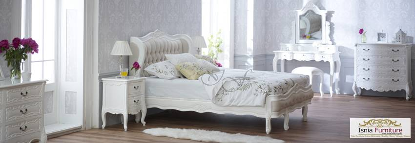 Furniture Kamar Set Putih French