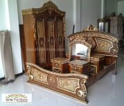 Model Furniture Kamar Set Jati Mewah