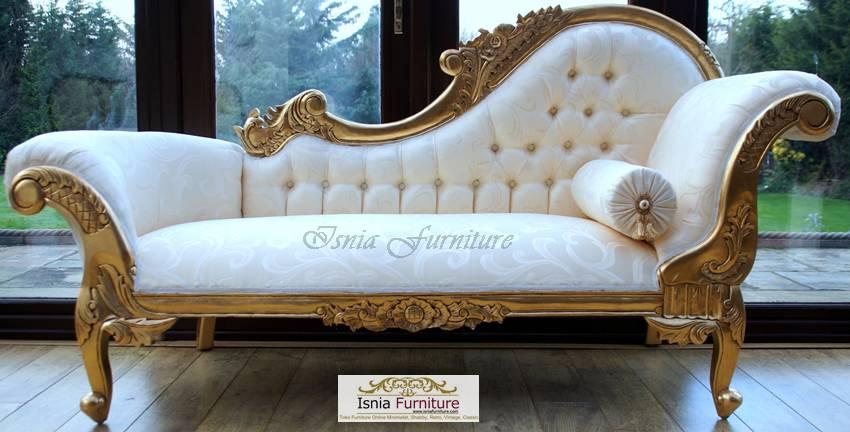 model sofa cleopatra mewah gold