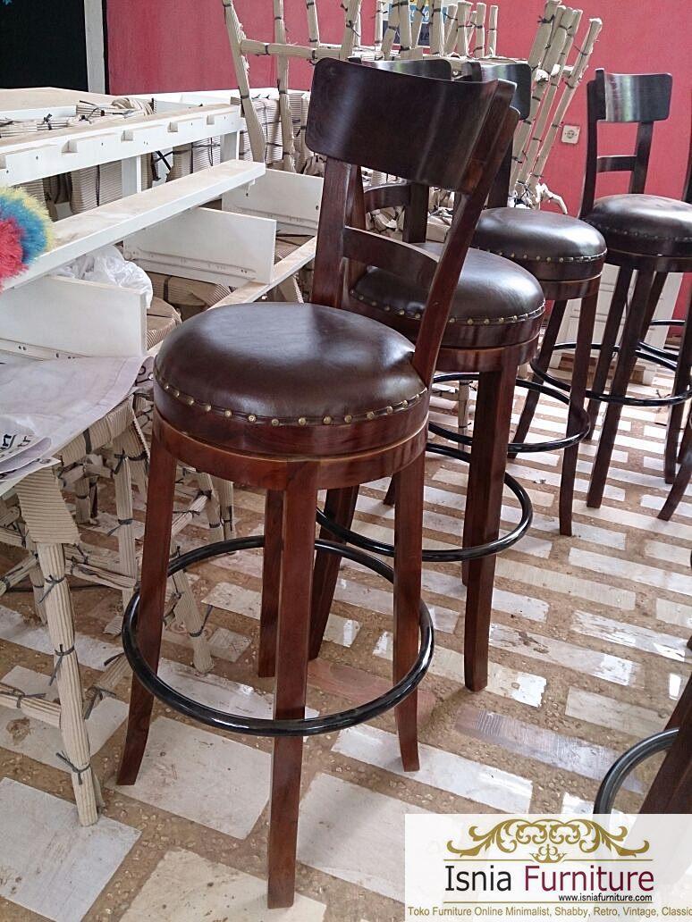 kursi bar minimalis harga murah