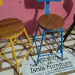 Kursi Cafe Besi Modern Surabaya Model Unik Berwarna