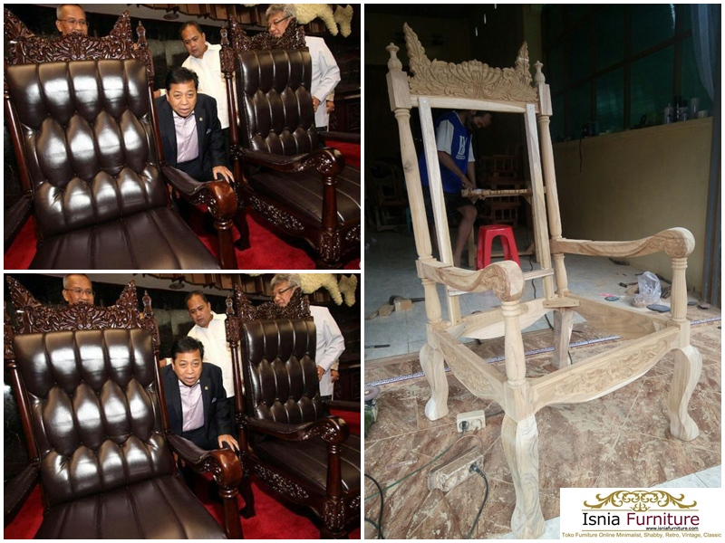 Jual Kursi DPR Raja Salman Mewah