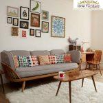 Jual Set Meja Kursi Sofa Tamu Modern Harga Murah