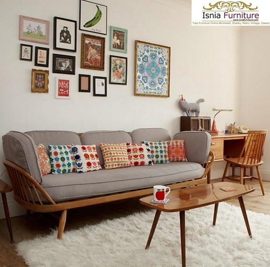 Jual Set Meja Kursi Sofa Tamu Modern Murah