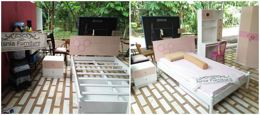 Kerangka Tempat Tidur Anak Princess Surabaya - Pesanan Ibu Rohaya