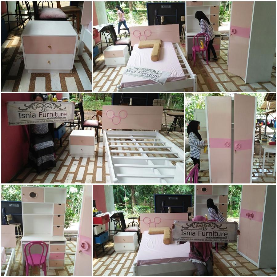 Tempat Tidur Anak Princess Surabaya - Pesanan Ibu Rohaya