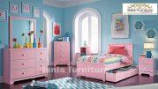 Kamar Set Anak Perempuan Jakarta Model Warna Pink