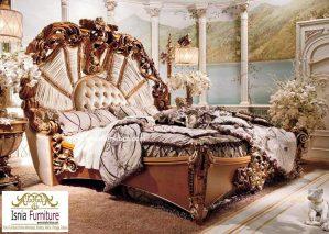Jual Tempat Tidur Mewah Ukir Jati Jepara Termewah Di Dunia