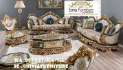 Sofa Mewah Warna Gold Cat Duco Minimalis Murah